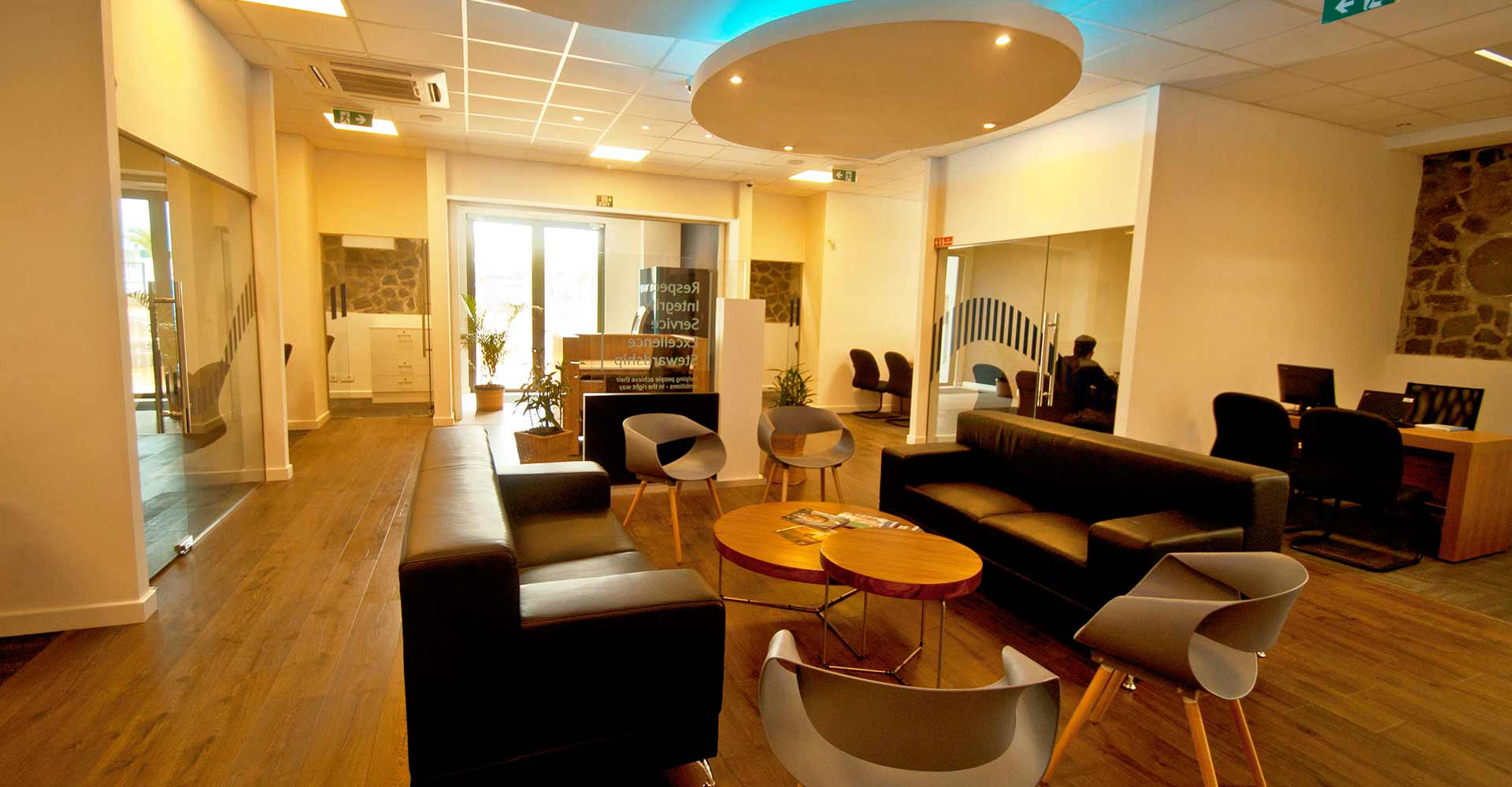 Barclays Premier Lounge at Caudan